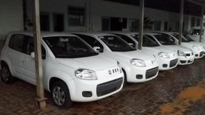 Secretaria Municipal de Saúde recebe cinco novos veículos