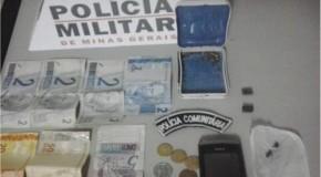 Homem é preso com drogas no bairro Leblon, Setor Oeste de Araxá
